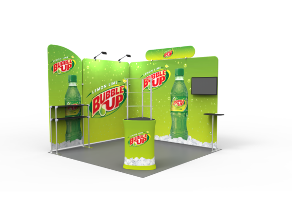 Portable Exhibition Booths : 10 x 10ft portable exhibition stand display booth t u2013 exhibit supply