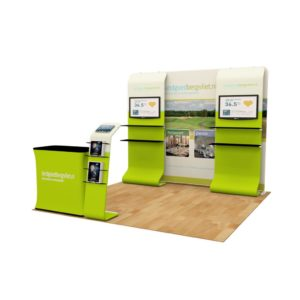 Portable Exhibition Booths : 10 x 10ft portable exhibition stand display booth o u2013 exhibit supply